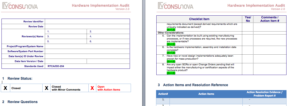 DO-254 PA Implementation Audit