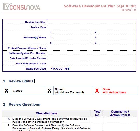 On-Demand DO-178, DO-254, ARP Templates & Checklists